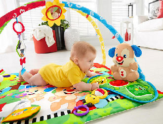 Laugh & Learn Puppy 'n Pals Learning Gym from Fisher-Price