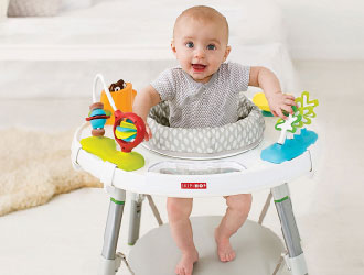 Explore & More Baby's View 3-Stage Activity Center from Skip Hop