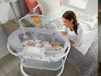 Soothing Motions Bassinet from Fisher-Price