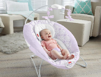 Fairytale Deluxe Bouncer from Fisher-Price