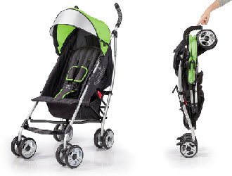 3Dlite Convenience Stroller from Summer Infant