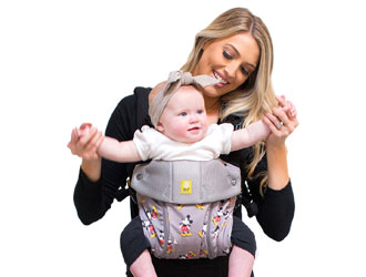 Disney Baby Complete All Seasons Mickey Classic Baby Carrier - LILLEBaby