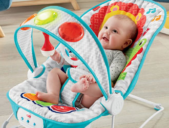 Kick 'n Play Musical Bouncer - Fisher-Price