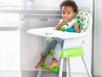 The Very Hungry Caterpillar Happy & Hungry 3-in-1 High Chair - Creative Baby