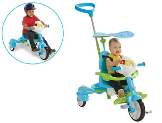 4-In-1 Stroll & Grow Tek Trike - VTech