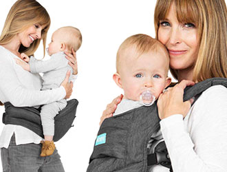 2-in-1 Carrier + Hip Seat from MOBY