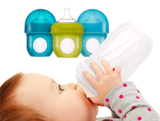 Nursh Silicone Pouch Bottle from Boon