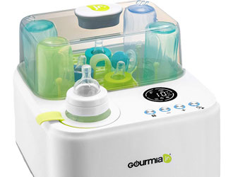 Gourmia Jr. Baby Bottle Sterilizer and Warmer from Gourmia