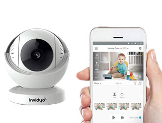 World's Smartest Video Baby Monitor from Invidyo