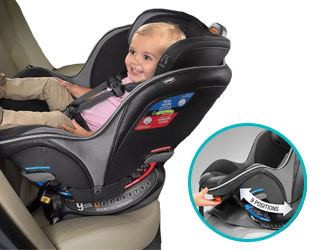 NextFit Zip Max Convertible Car Seat from Chicco