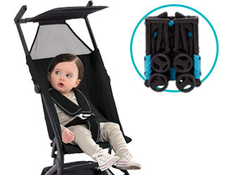Clutch Ultimate Fold N Go Compact Stroller from Delta Children