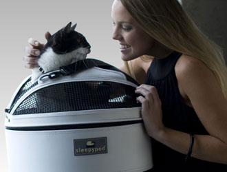 Sleepypod Mobile Pet Bed from Sleepypod
