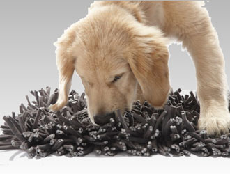 Wooly Snuffle Mat from Paw5