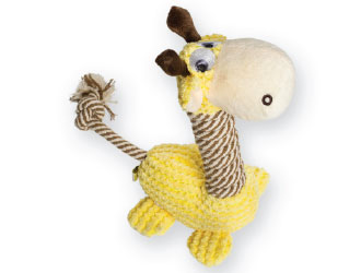 Lucy The Giraffe Dog Toy from BeOneBreed