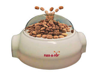 SPOT Push-n-Pop Food & Treat Dispenser from Ethical Products