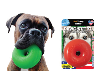Dawg-Nut XL and Ball XL from Ruff Dawg