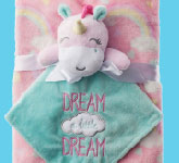 Baby Starters Unicorn Plush Blanket with Toy