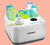 Gourmia Jr. Baby Bottle Sterilizer and Warmer