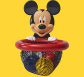 Mickey Mouse Shoot and Store Bath Toy