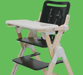 WoodNook High Chair