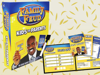 Family Feud Kids vs. Parents from Cardinal Games
