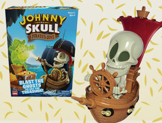 Johnny The Skull Pirate's Cove from Goliath Games