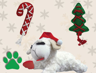 Holiday Dog Toys Christmas Collection from Multipet