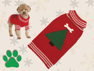 Pet Christmas Sweater from Up Country