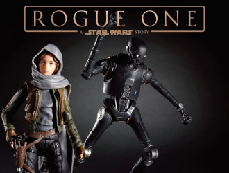 Star Wars Rogue One Black Series from Hasbro