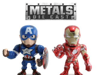 Marvel Metals Die Cast from Jada Toys