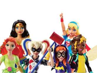 DC Super Hero Girls Action Figures from Mattel