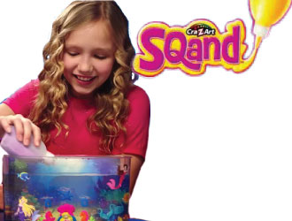Squand Mermaid Castle Playset from Cra-Z-Art
