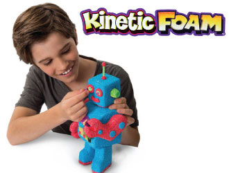 Kinetic Foam from Spin Master