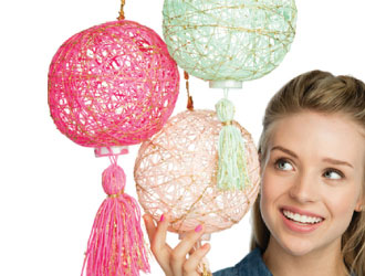 Craftivity Super String Lanterns from Faber-Castell