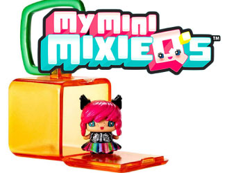 My Mini MixieQ's from Mattel