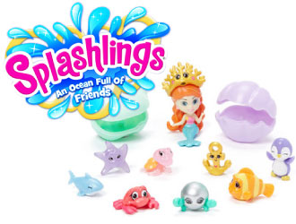 Splashlings from TPF Toys