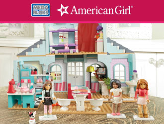 American Girl Grace's 2-in-1 Buildable Home from MEGA Bloks