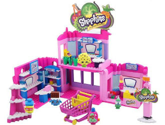 Shopkins Kinstructions Shopville Town Center from The Bridge Direct