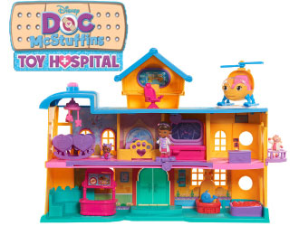 Doc McStuffins Toy Hospital from Just Play