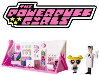 The Powerpuff Girls Flip Into Action Playset from Spin Master