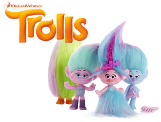 DreamWorks Trolls Poppy's Fashion Frenzy from Hasbro