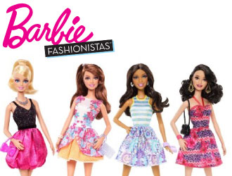 Barbie Fashionistas from Mattel