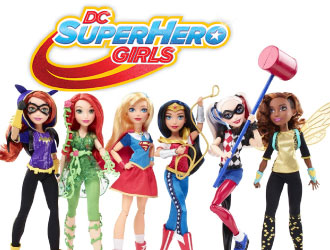 DC Super Hero Girls Dolls from Mattel