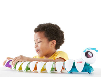 Think & Learn Code-a-pillar from Fisher-Price