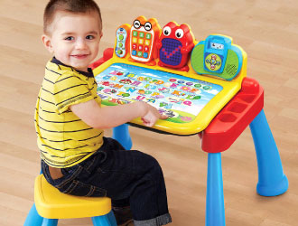 Touch & Learn Activity Desk Deluxe from VTech