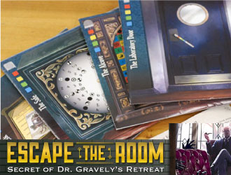 Escape the Room: Secret of Dr. Gravely's Retreat from ThinkFun