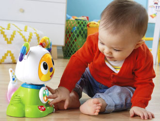 Bright Beats Dance & Move BeatBowWow from Fisher-Price