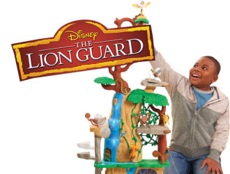 The Lion Guard Training Lair Playset from Just Play