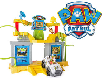 PAW Patrol Jungle Rescue Monkey Temple from Spin Master