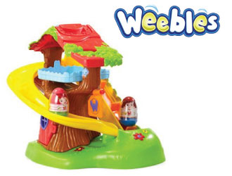 Weebles Wonder Club Treehouse from Jazwares